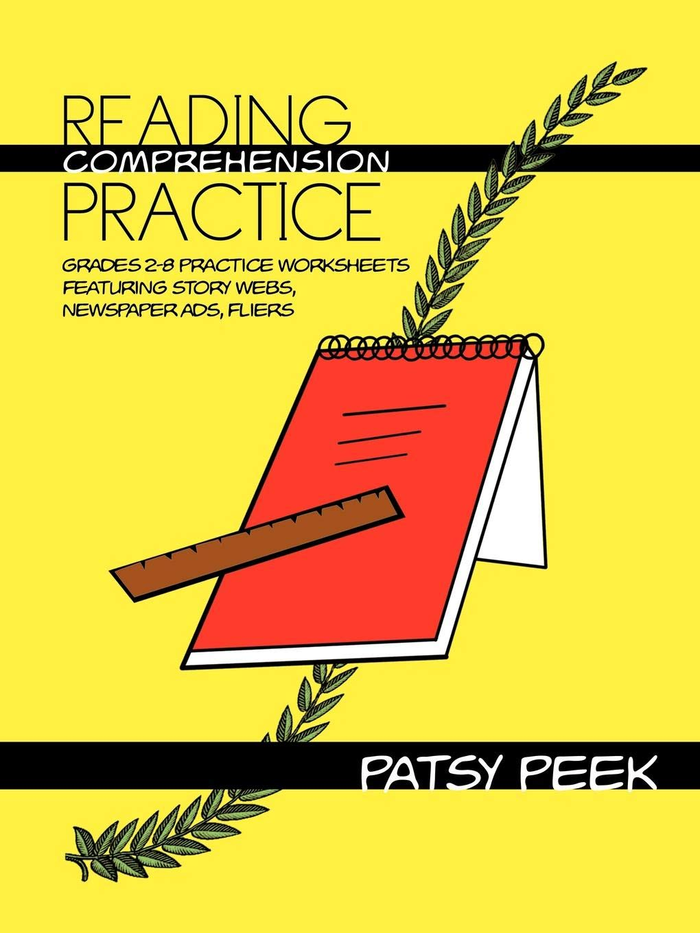 - Reading Comprehension Practice: Grades 2-8 Practice Worksheets