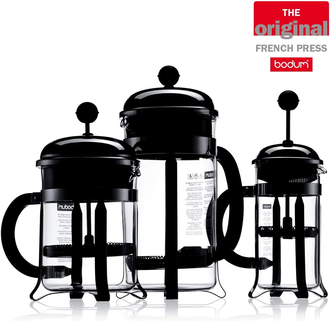 BODUM 0.35 Litre French Press 3-Cup Copper Coffee Maker