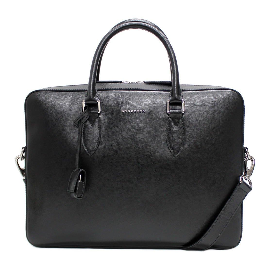 バーバリー BURBERRY 3997692 London Leather Black メンズビジネスバッグ [並行輸入品] B07SC6BQNX