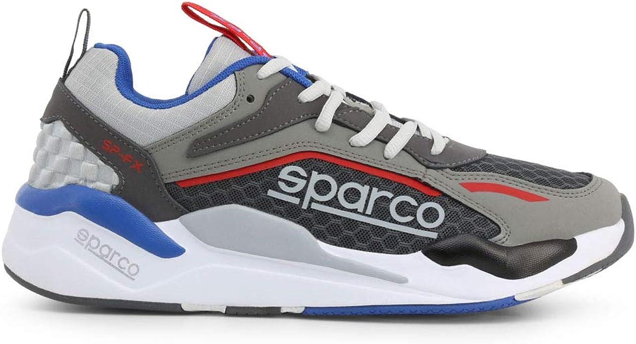 Sparco Herren Sp Fx Niedrig Sportschuhe Sneakers Grau Weiß Eu 45 Schuhe Handtaschen