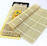 Astra shop 1pc Flat Sushi Bamboo Rolling Mat,9-1/2