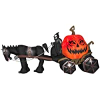 Gemmy 14 ft. Projection Inflatable-Fire and Ice-Grim Reaper Deals