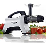 Omega NC1000HDS Juicer Extractor Nutrition System Creates Fruit Vegetable and Wheatgrass Juice Slow Masticating BPA-FREE with