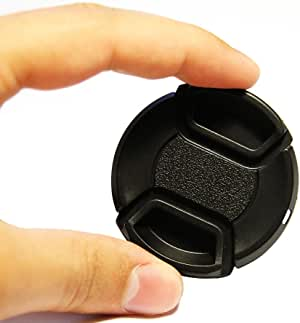 + Lens Cap Holder 43mm Nwv Direct Microfiber Cleaning Cloth for Canon VIXIA HF M500 Lens Cap Side Pinch
