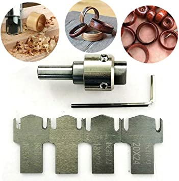 High-Speed Ring Drill Bit Multifunction Wooden Thick Ring Maker Set 8-Blades NEW