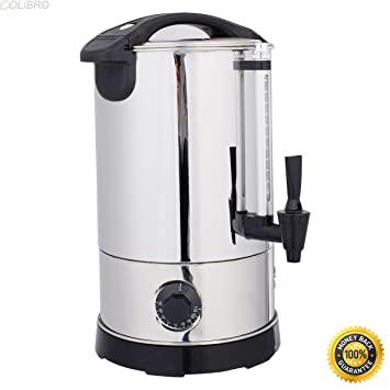Amazon.com: COLIBROX--Stainless Steel 6 Quart Electric Water Boiler ...