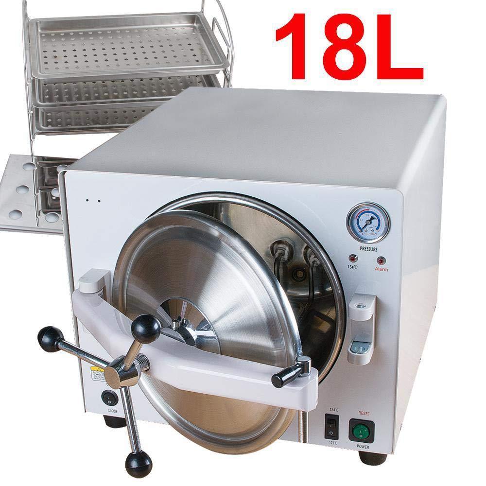BONEW Dental Full Stainless Steel 18L Steam Pressure Sterilizition Laboratory Use by BONEW (Image #1)