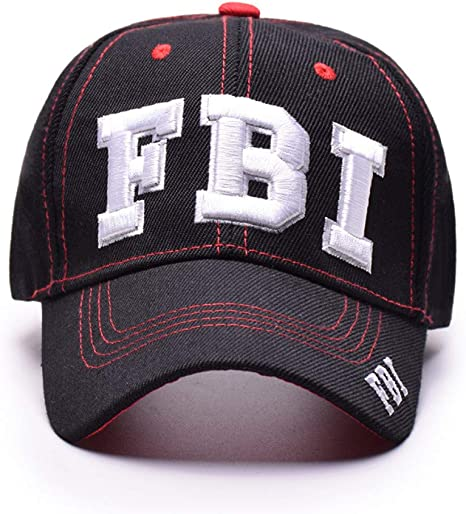 FHSOHG Gorra de béisbol Gorras de Las Mujeres Cartas del FBI ...