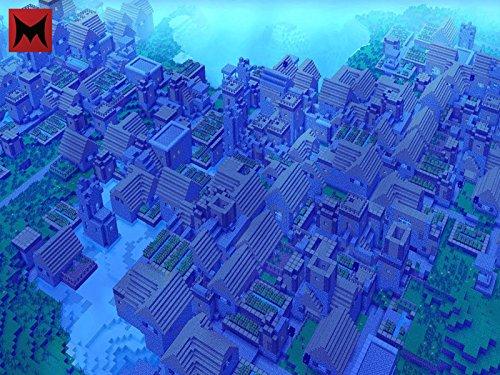 Clip: World's Biggest Underwater Minecraft Village