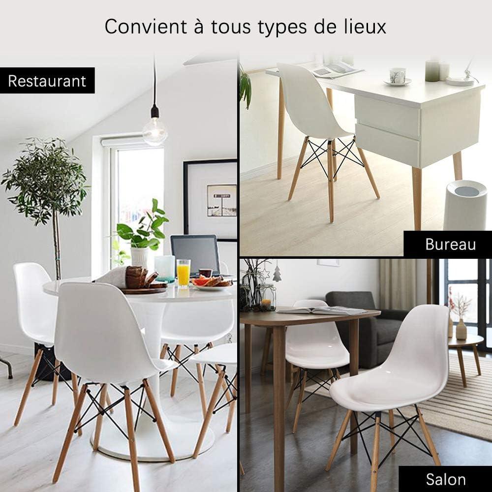 Nidouillet Lot de 6 Chaises de Salon Chaise de Cuisine