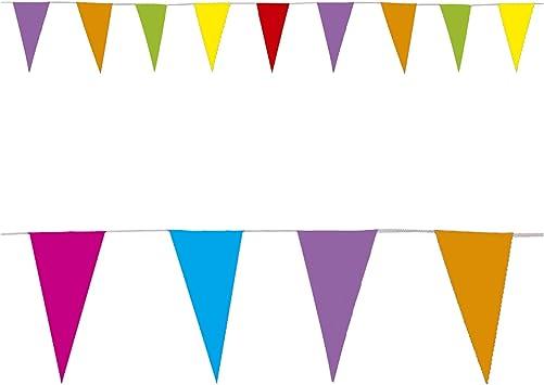 Widmann 2258l ? Banderines de papel de colores guirnalda: Amazon.es: Juguetes y juegos