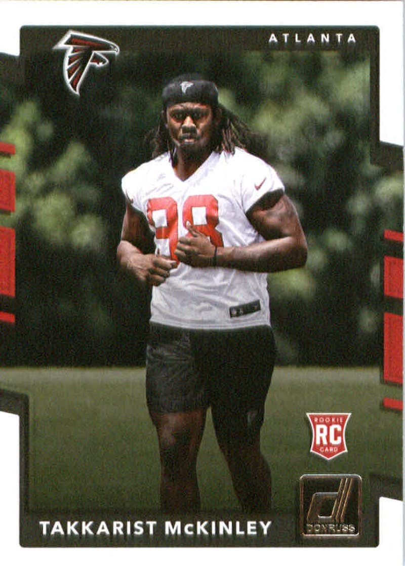2017 Donruss #400 Takkarist McKinley Atlanta Falcons Rookie Football Card