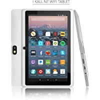 IKall N7 WiFi Tablet Without Sim Slot (7 Inch Display, 2GB Ram, 16GB Storage, No Sim Card Only WiFi Connectivity to Run Internet) (White)