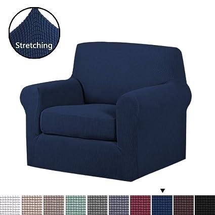 Amazon Com H Versailtex Stretch Chair Slipcovers Sofa Covers 2