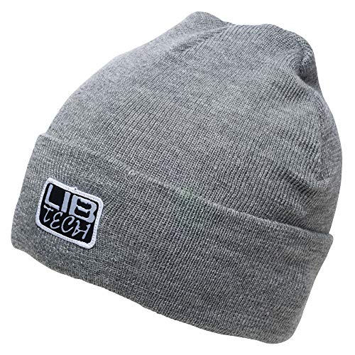 Lib Tech 'Rider' Beanie Gray one Size ()