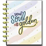 The Happy Planner Classic Sized 18 Month Planner - Shine Your Light Theme - July 2021 - December 2022 - Monthly & Weekly Disc