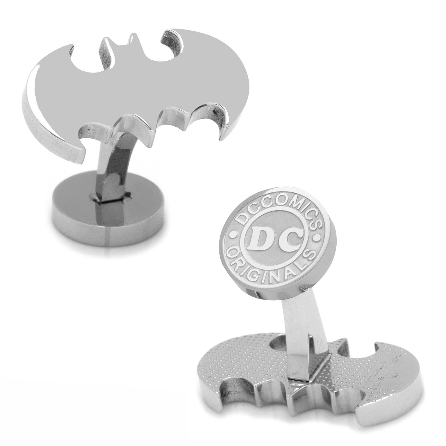 Cufflinks DC Comics Stainless Steel Batman, Officially Licensed