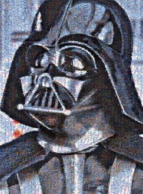 Star Wars - Photomosaic - Darth Vader - 1000 Piece Jigsaw Puzzle