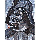 Buffalo Games Star Wars Photomosaic Darth Vader, 1000-Piece Jigsaw Puzzle