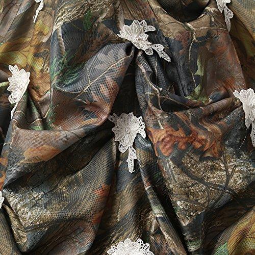 Robes De Mariée De Mariage De Camouflage Des Femmes Chupeng Appliques Bal Taille Quinceanera, Plus Bleu
