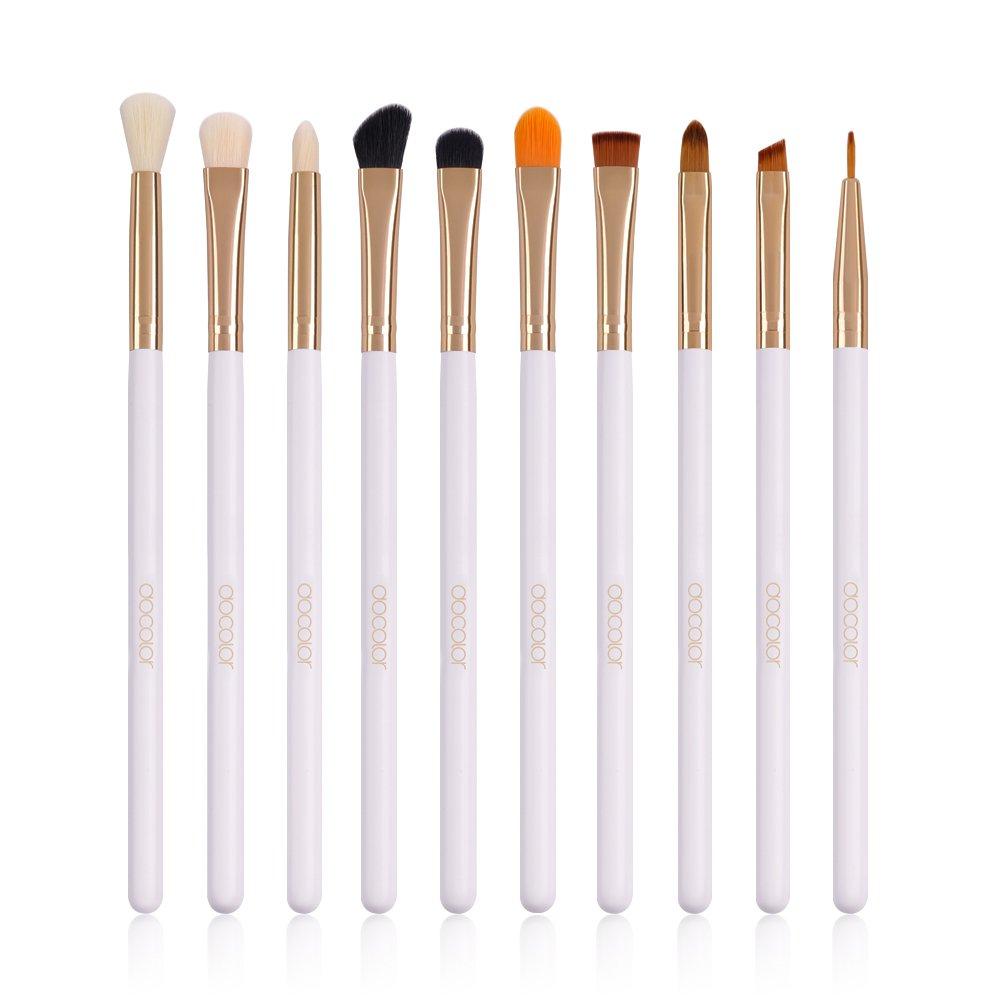 Docolor Eye Makeup Brushes Professional Eye Makeup Brush Set Eyeshadow Concealer Blending Brush Too