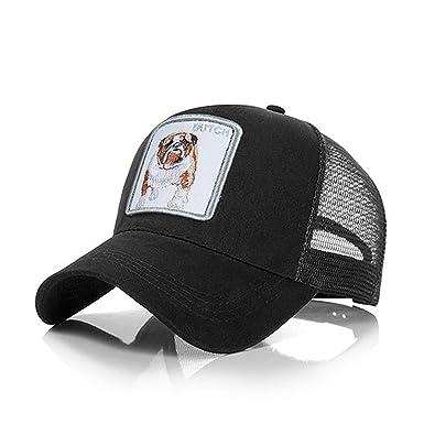 5472dfd1b1836 Animals Baseball Cap Men Women Summer Mesh Breathable Snapback Caps Unisex  Animal Embroidery Fashion Streetwear Hip