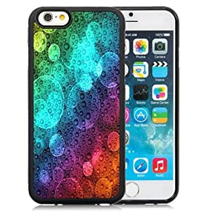 New Personalized Custom Designed For iPhone 6 4.7 Inch TPU Phone Case For Colorful Water Bubbles Phone Case Cover