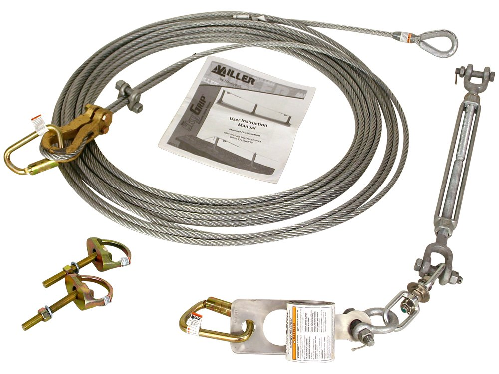 Miller by Honeywell SG416//60FT 60 Kit with D-Bolt Anchors Honeywell Safety Products USA