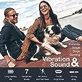 Dog Bark Collar Upgrade 2018 - Vibration No Shock Collar - Humane Anti Bark Training Collar - Stop Barking Collar for Small Medium Large Dogs - Best No Bark Control Collar - Pet Safe Waterproof Device