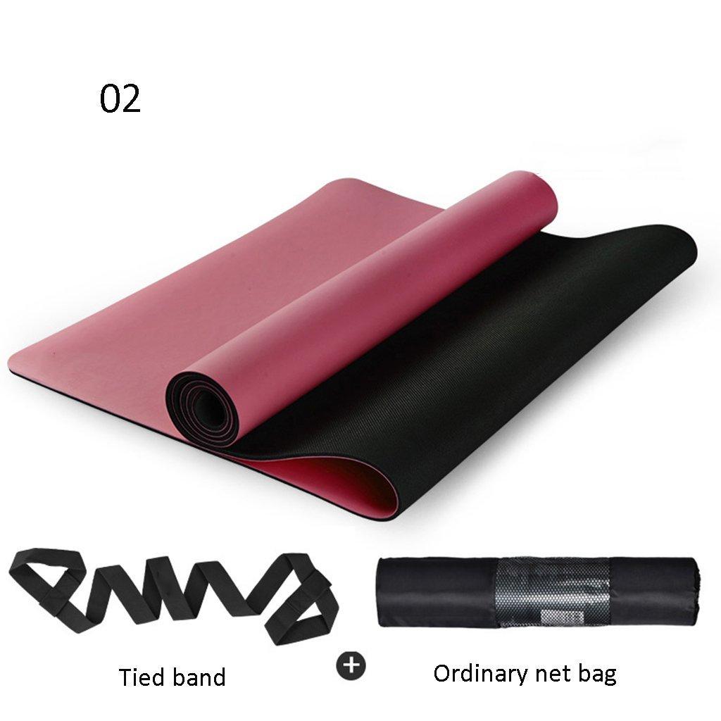 B OIBHFO Home Tapis de Yoga Tapis antidérapant, Tapis de Yoga (Couleur   M)