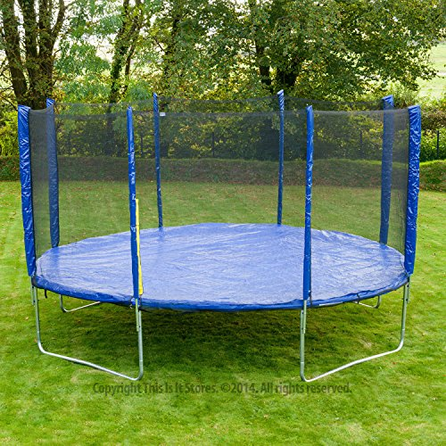 Jump Star Trampoline And Enclosure Bumper Package 8Ft 10Ft 12Ft