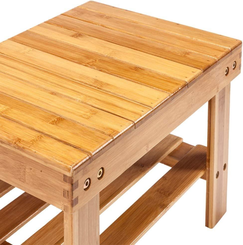 Wooden Step Stool for Kids Toddlers Adults Kitchen Bathroom Bedroom Portable Small Foot Stool Upgrade