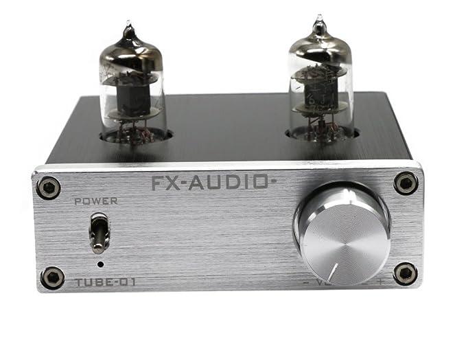 1 opinioni per FX Audio TUBE-01 6J1 Tube Buffer HIFI Pre Amplifier Sliver