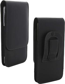 Funda para smartphone con clip para cinturón 3.2, compatible con Huawei Honor Mate/Nokia/Motorola Moto/Samsung Galaxy Note/Sony Xperia, funda para smartphone, color negro: Amazon.es: Electrónica