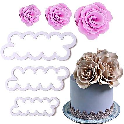 Amazon Com Palker Sky Cake Decorating Gumpaste Flowers The