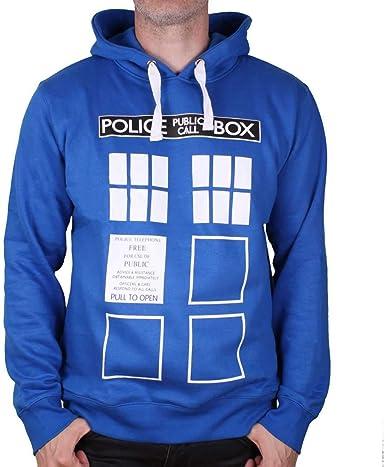 Sweat Doctor Who - Police Box: Amazon.fr: