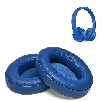 Beats Studio 2.0 Almohadillas de repuesto de espuma con efecto memoria para auriculares, almohadillas para