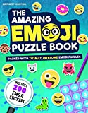 The Amazing Emoji Puzzle Book: Packed With Totally Awesome Emoji Puzzles and 200 Emoji Stickers