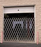 Beacon Galvanized Heavy Duty Steel Folding Gate; Gate Type: Single; Usable Width (Feet): 6' to 7'; Collapsed Height: 8'; In Use Height: 7' 6''; Model# BVSSG-780