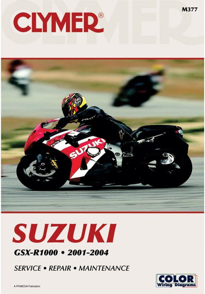 [WQZT_9871]  Amazon.com: Clymer Repair Manual for Suzuki GSX-R1000 GSXR-1000 01-04:  Automotive | 2002 Suzuki Gsxr 1000 Wiring Diagram |  | Amazon.com