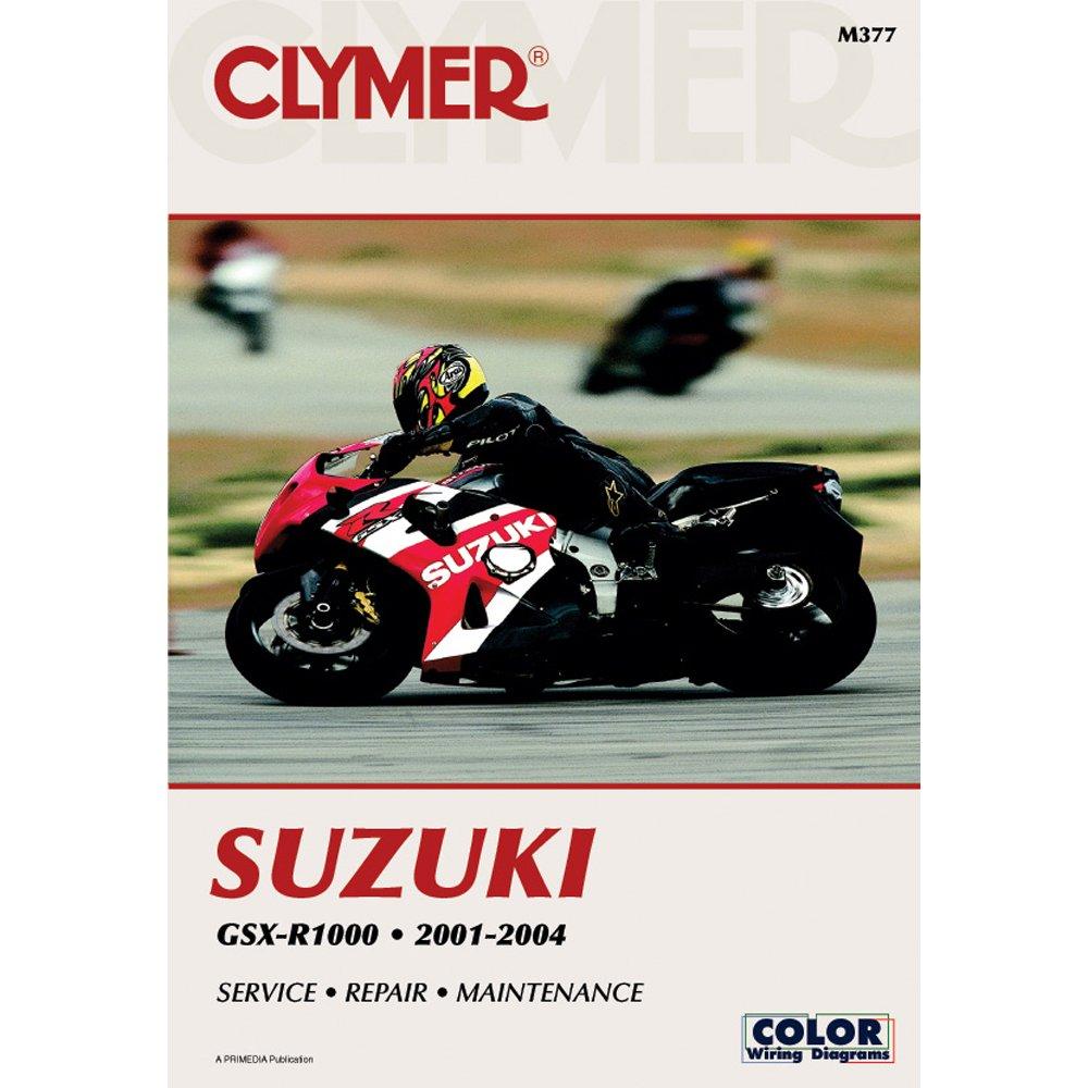 2001-2004 CLYMER SUZUKI MOTORCYCLE GSX-R1000 SERVICE MANUAL NEW M377:  Manufacturer: Amazon.com: Books