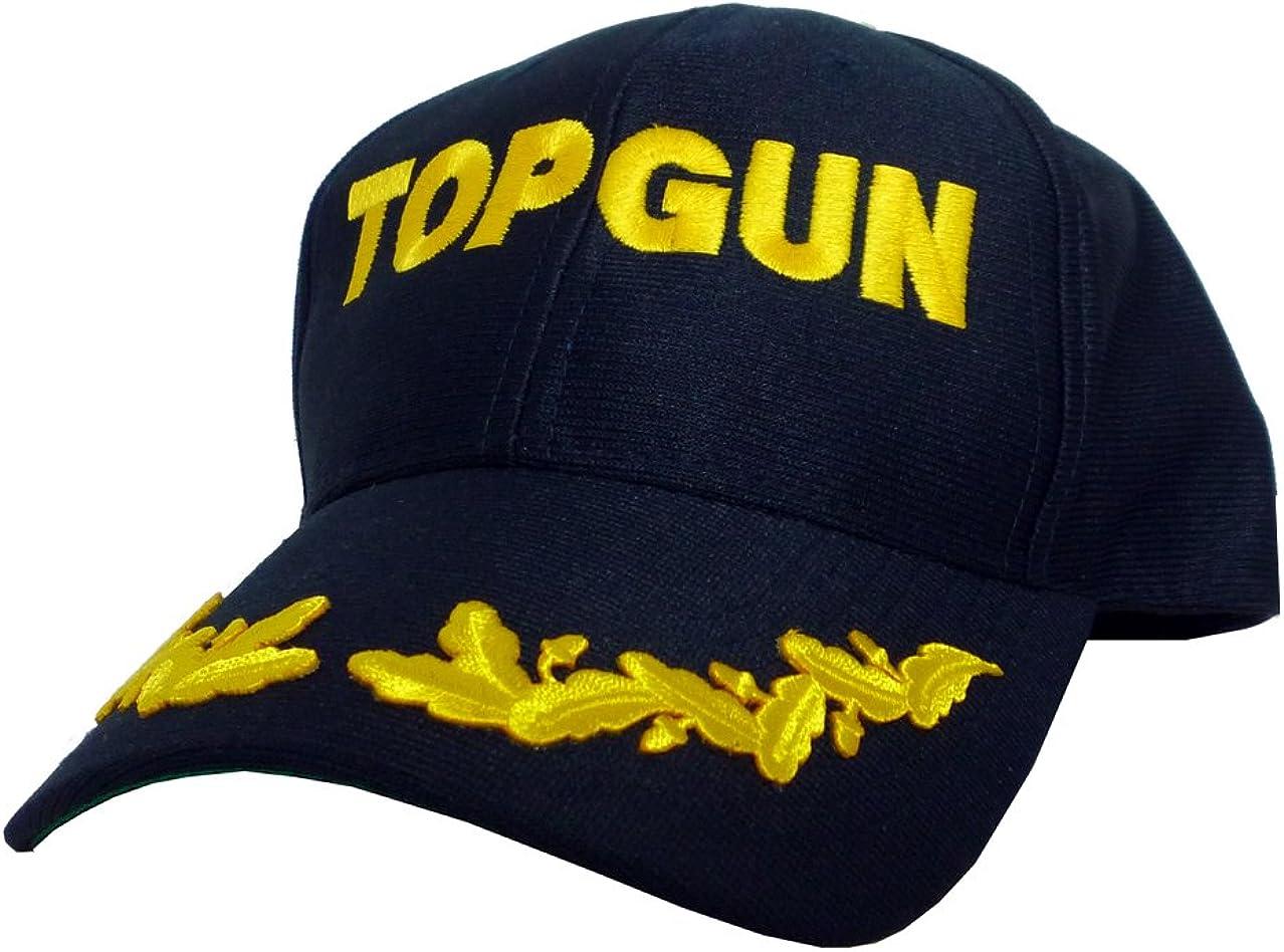 Gorro de Top Gun, de hojas de dorado Logo Top Gun con juego de ...