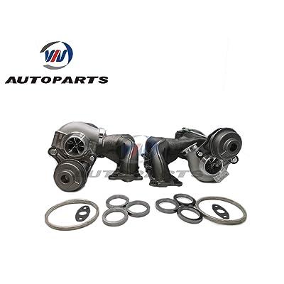 Upgraded TD04-17T 49131-07031+07051 Billet Twin Turbochargers for E89 E90 E91 E92 E93 135i 335i 535i Z4 upgraded to 650 horse power (TD04-17T 335i/is/x/xi RHD): Automotive