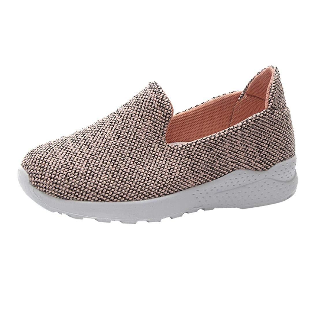 Women Shoes HEHEM Women's Canvas Shoes Flat Shoes Casual Non-Slip Shoes Rocking Shoes Buy Formal Shoes Designer Shoes Shoes Athletic Shoes Online 123