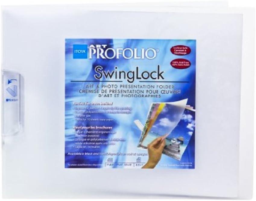 11x17 The Original SWINGLOCK Frosted Art Photo 17x11landscape Presentation Folder by Itoya
