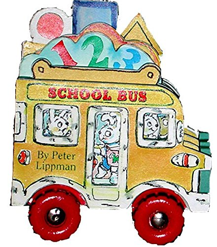 Mini Wheels: School Bus (Mini Wheel Books) (Mini Alphabet Books)