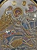 handmade Russian Orthodox Icon The Saint George and