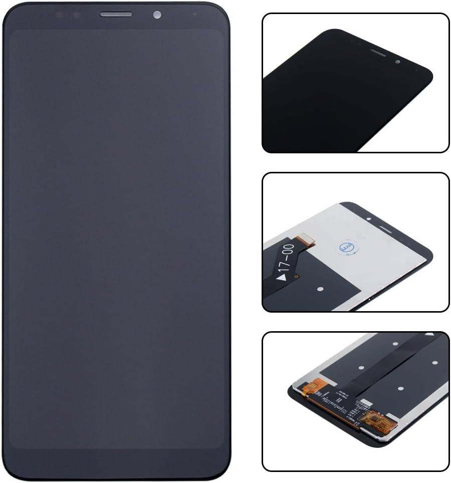 Jinghaush Kompatibel mit Xiaomi Redmi 5 Plus H/ülle Handyh/ülle Farbe Gemalt Geh/ärtetes Glas Back Cover Weich TPU Silikon Rand Kratzfest Schutzh/ülle Ultrad/ünn Case Ast