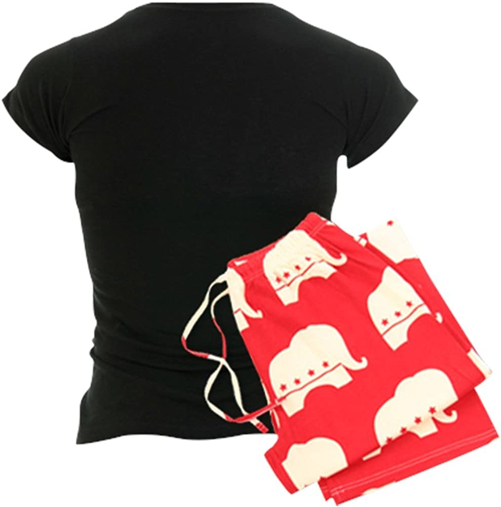 CafePress Snoopy Home for The Holiday Womens PJs