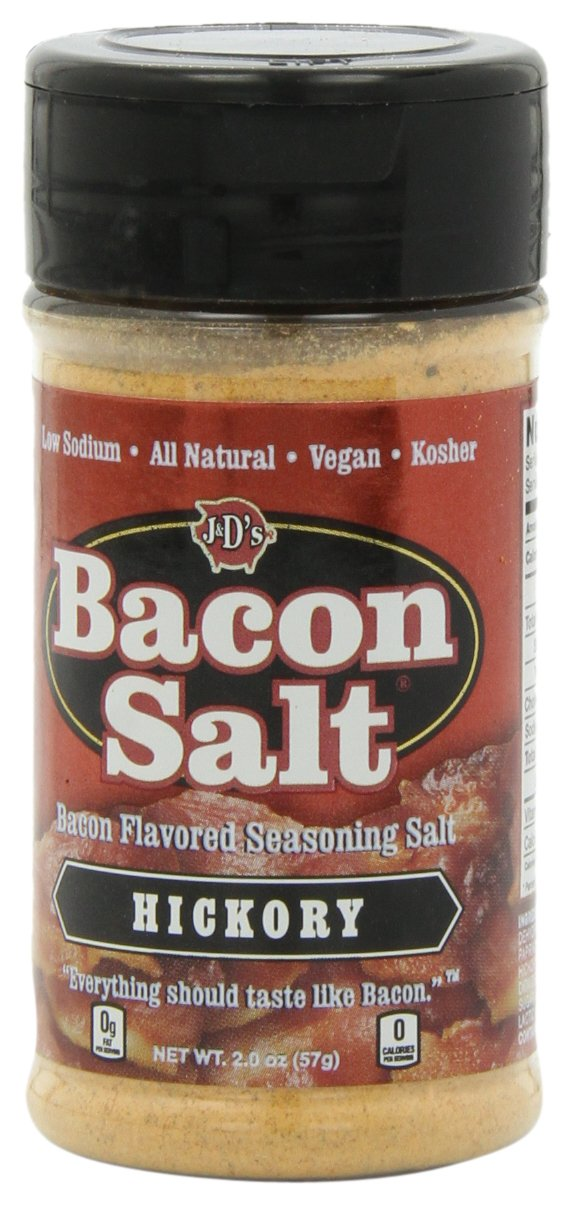J&D's Bacon Salt, Hickory, 2 Ounce (Pack of 3)